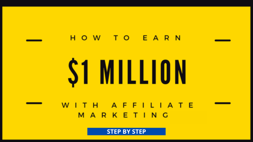 HOW TO GET RICH FROM AFFILIATE MARKETING